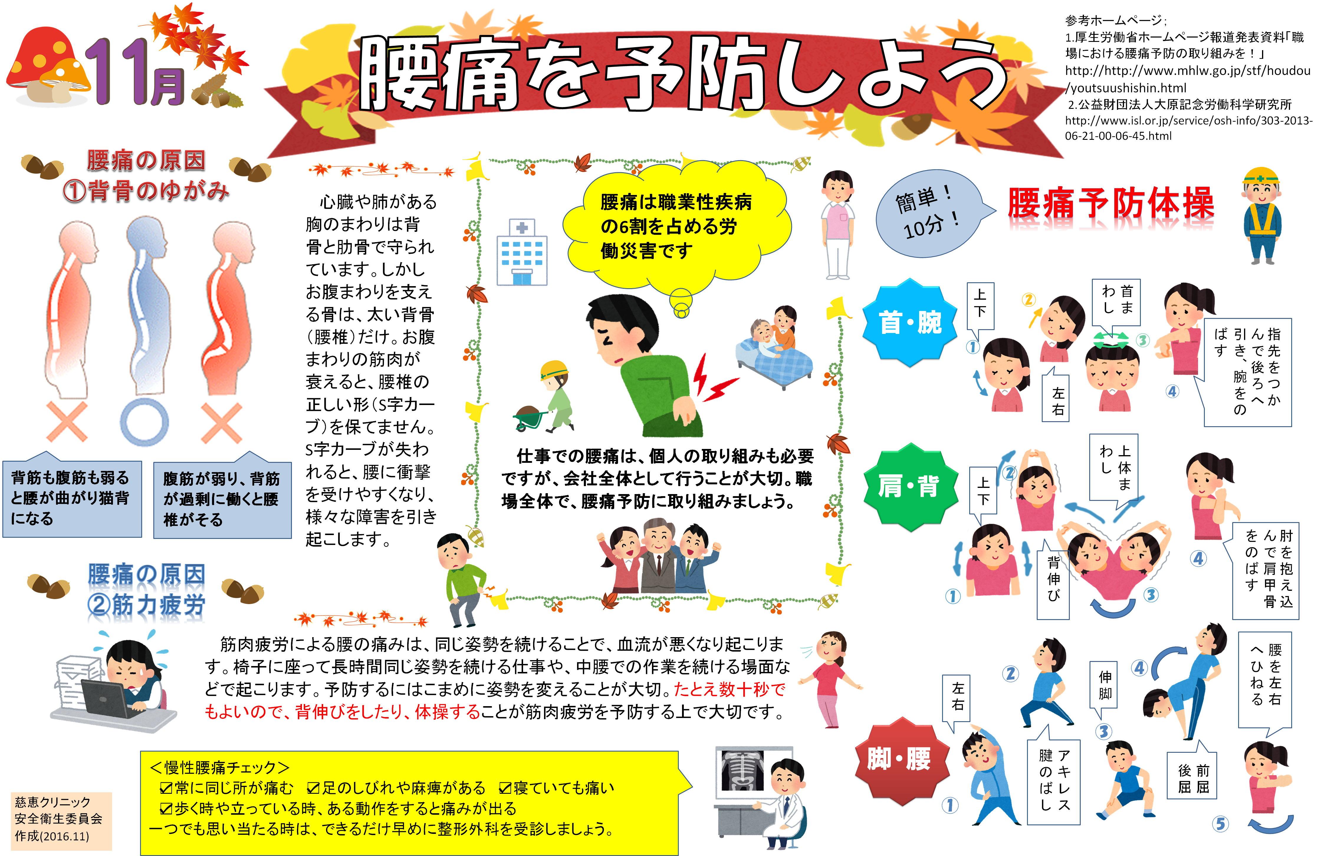 対策 腰痛 職場 における 指針 予防